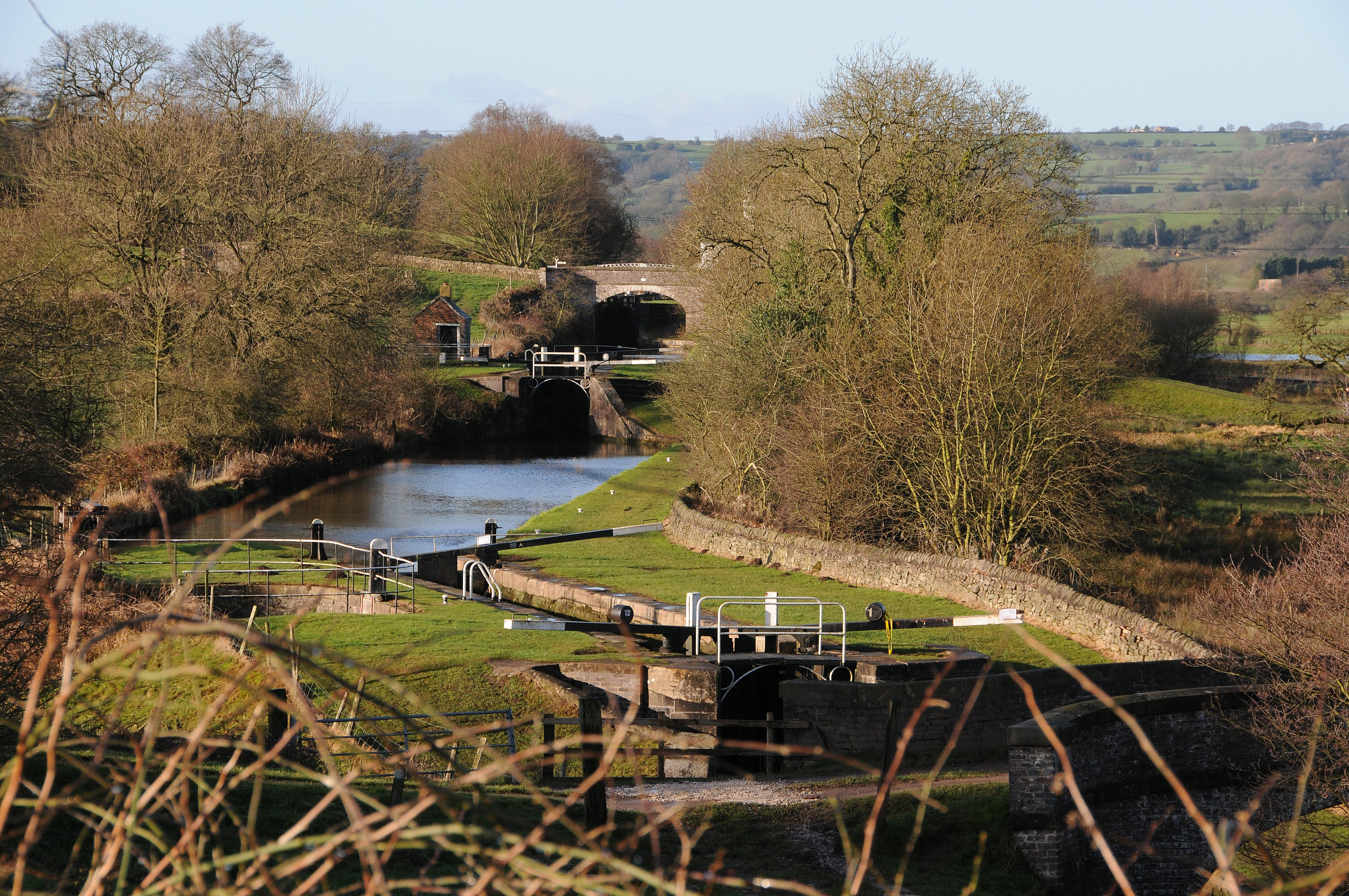 Hazlehurst Locks - Harry Arnold / Waterway Images