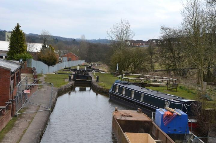Cheddleton towpath improvements - day 1