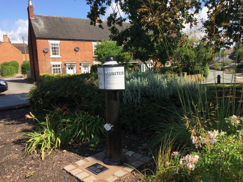 Milepost 30 at Uttoxeter Wharf July 2919